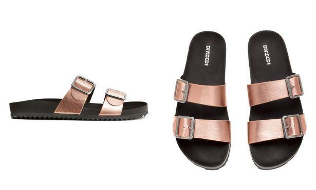 hm slip on sandals