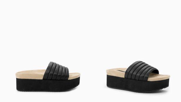 mango flatfort sandals