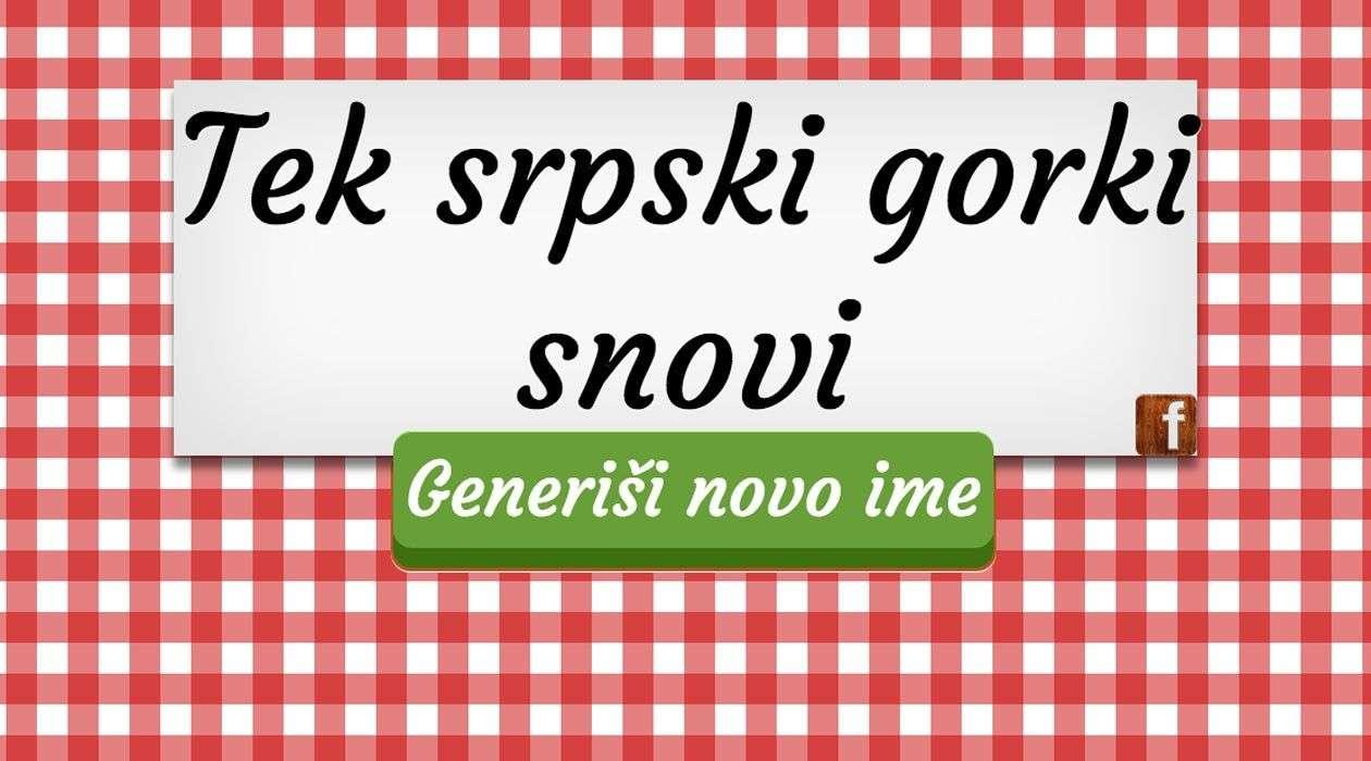 tek-srpski