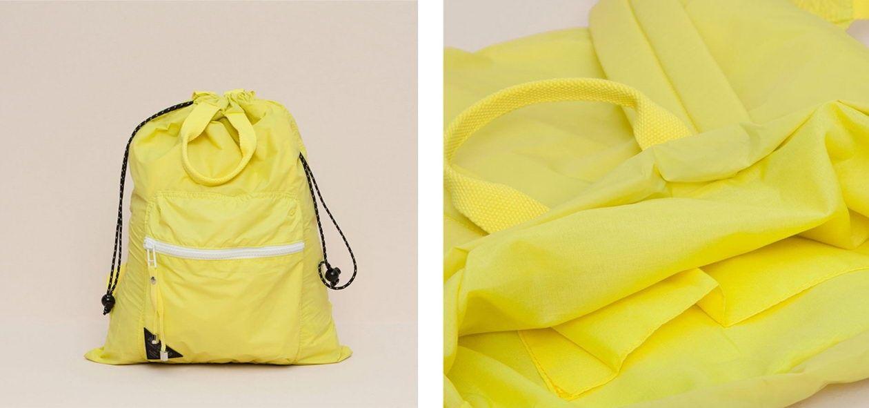 pull&bear neon coloured rucksack