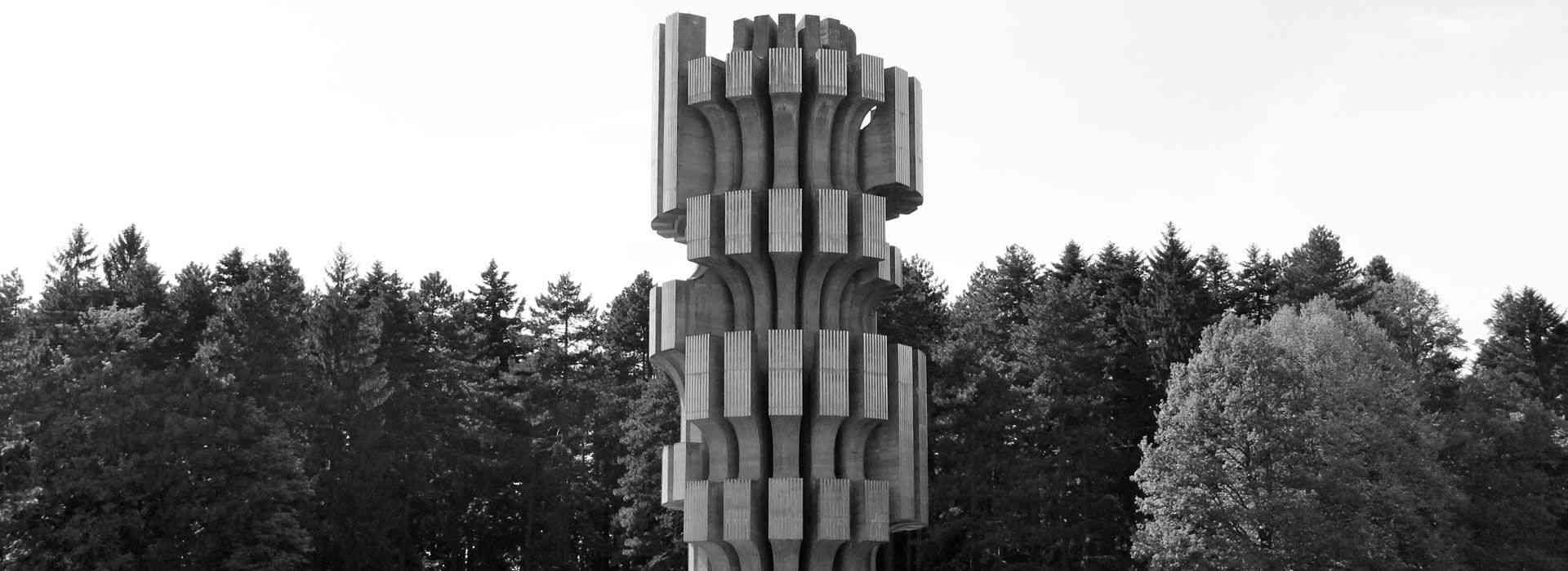 Spomenik Revoluciji Nacionalni Park Kozara Kozara National