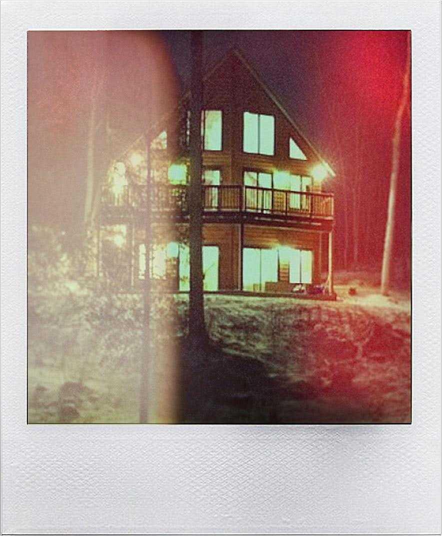 Zimska rezidencija Koenovih, polaroid.
