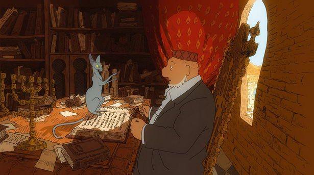 Zaljubljeni brbljivac: Rabinov mačak (2011)