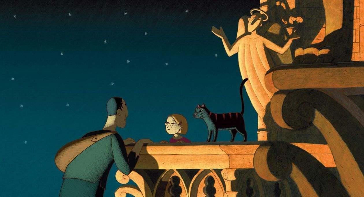 Devet života za najhrabrije: Mačak u Parizu (2010)