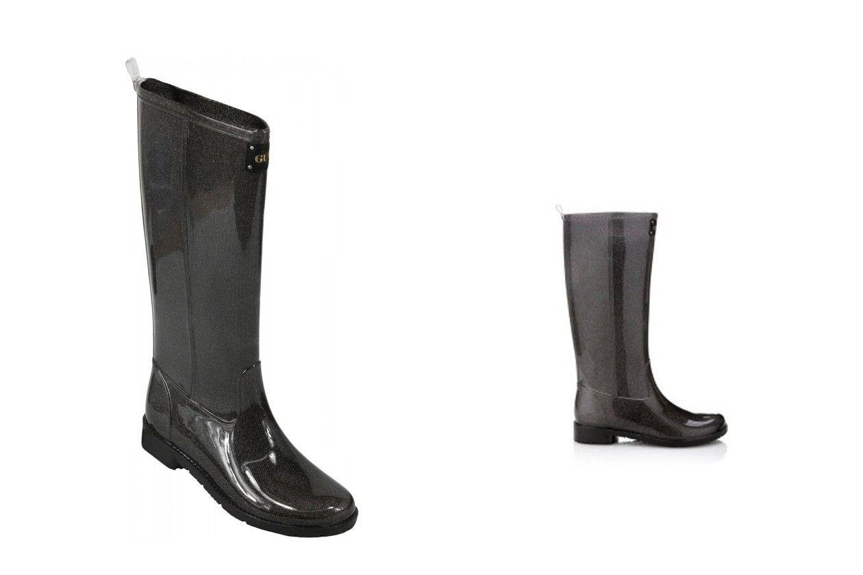 guess glitter rain boot