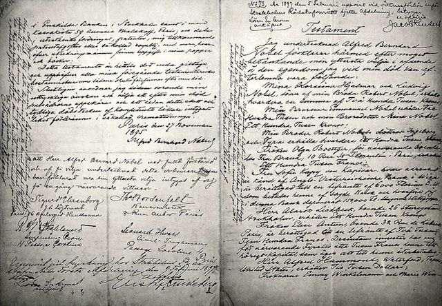 Testament Alfreda Nobela