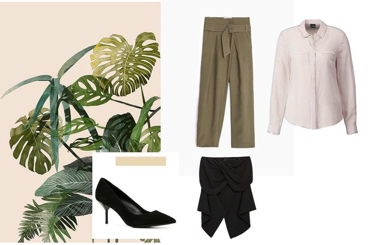 košulja: C&A, pantalone: MANGO, top: ZARA, cipele: ALDO