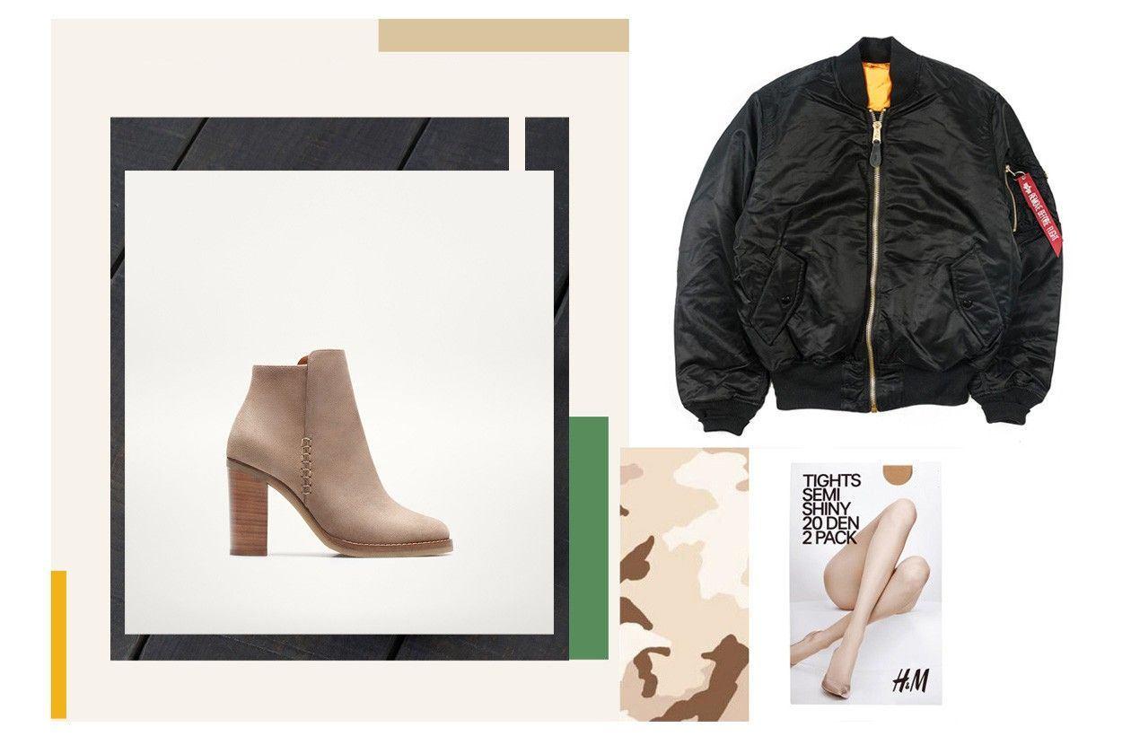 jakna: ALPHA INDUSTRIES, čizme: MASSIMO DUTTI, čarape: H&M
