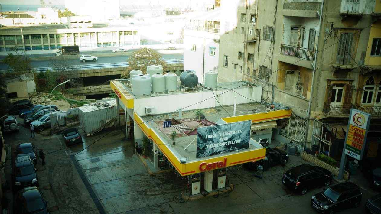 LIKE THERE IS NO TOMORROW Site specific instalacija, Bejrut, Liban, 2015