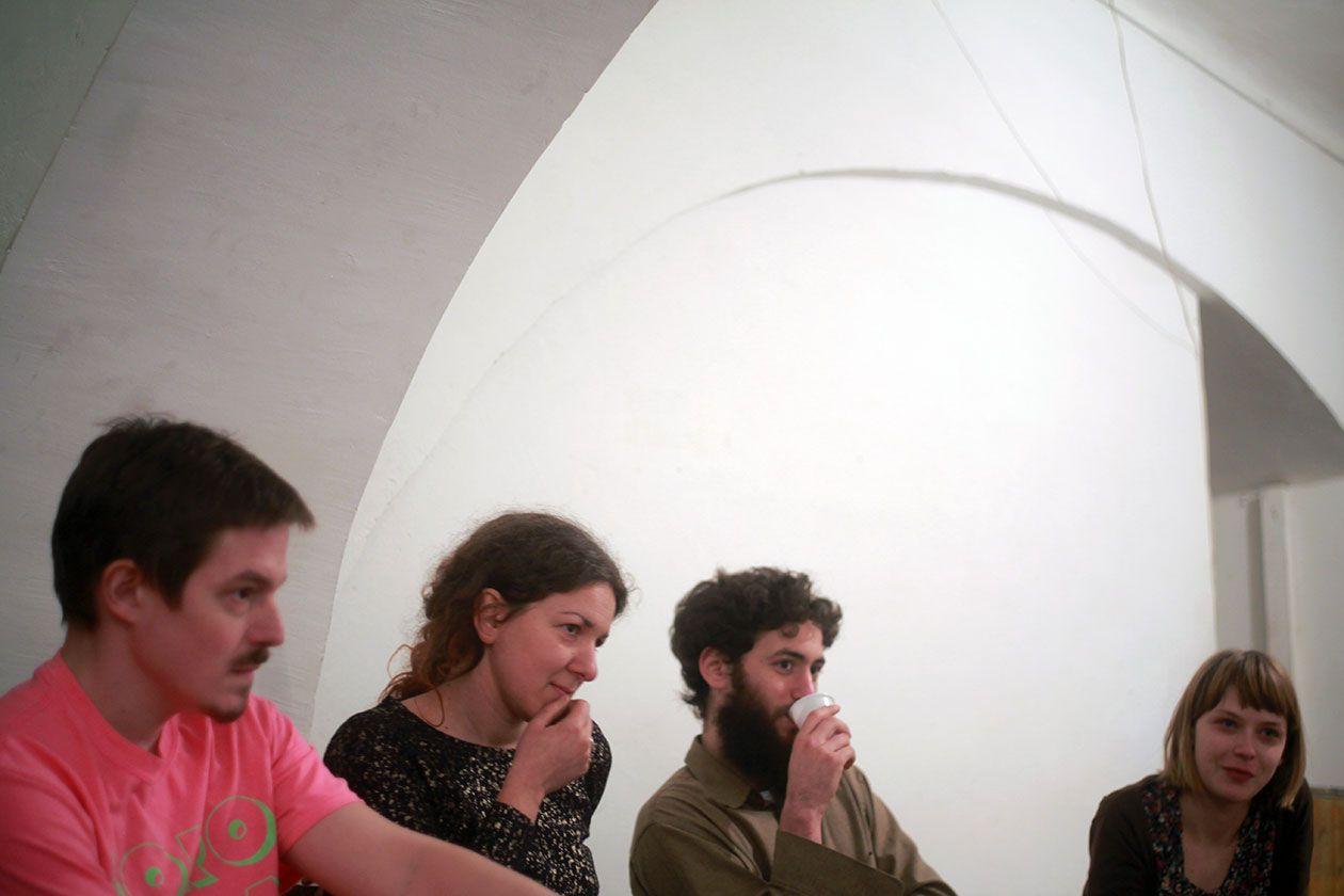 S leva na desno: Luka, Ana, Marko, Jelena