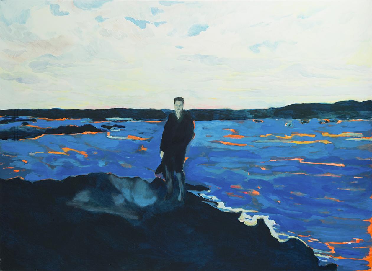 Tropique Nord, 220 x 160 cm, ulje na platnu, 2018
